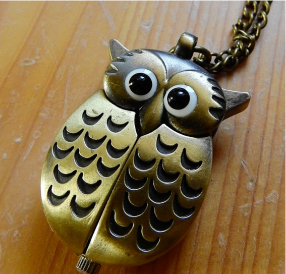necklace-owl